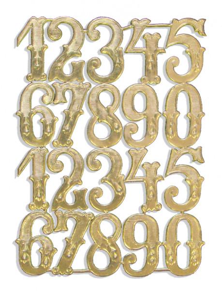 Ziffern 3,5 cm Sortiment 20er Set