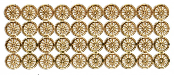 Wheels Ø 1,4 cm Set Of 40 pcs.