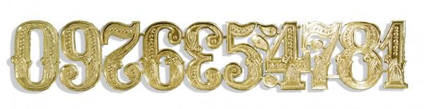 Number Assortement Set of 10 pcs.