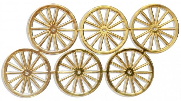 Wheels Ø 3,2 cm Set Of 6 pcs.