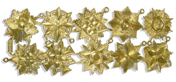 Ornaments Medals Set Of 10 pcs.