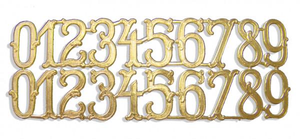 Ziffern 2,5 cm Sortiment 20er Set